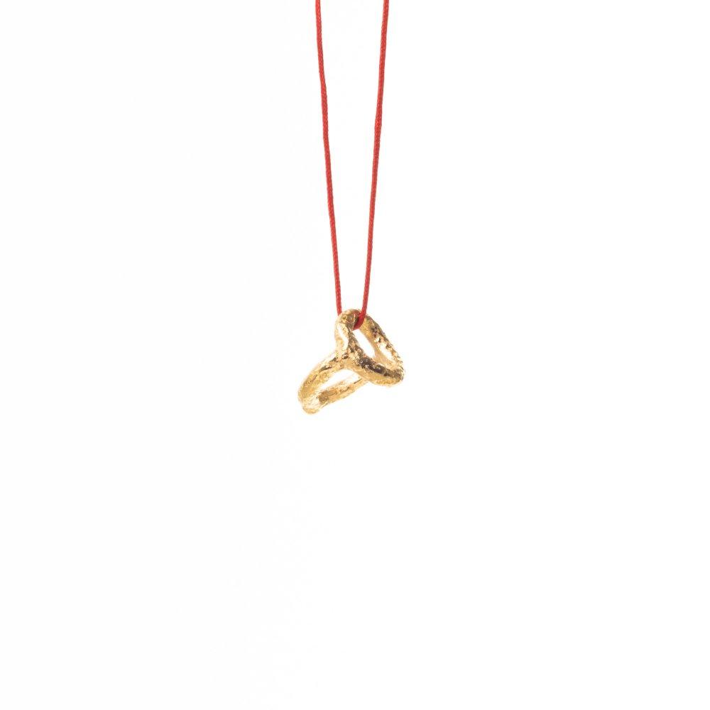 yubiwa baby ring pendant / gold