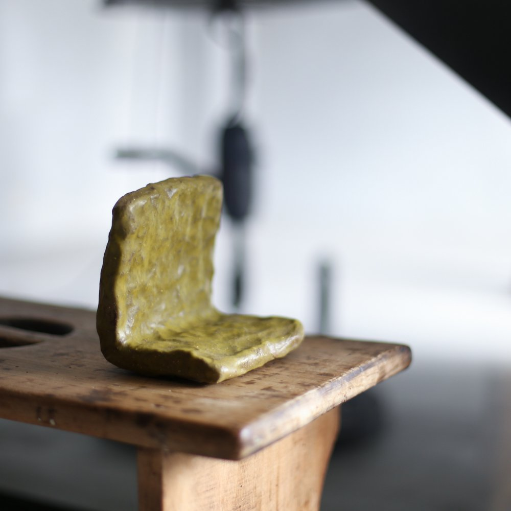 Book End / lime