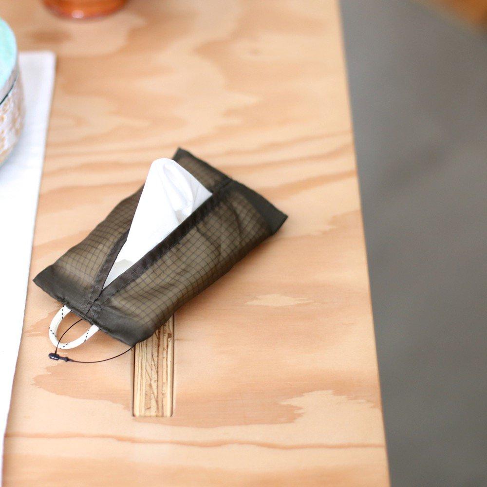 VINTAGE PARACHUTE TISSUE COVER Pocket Olive