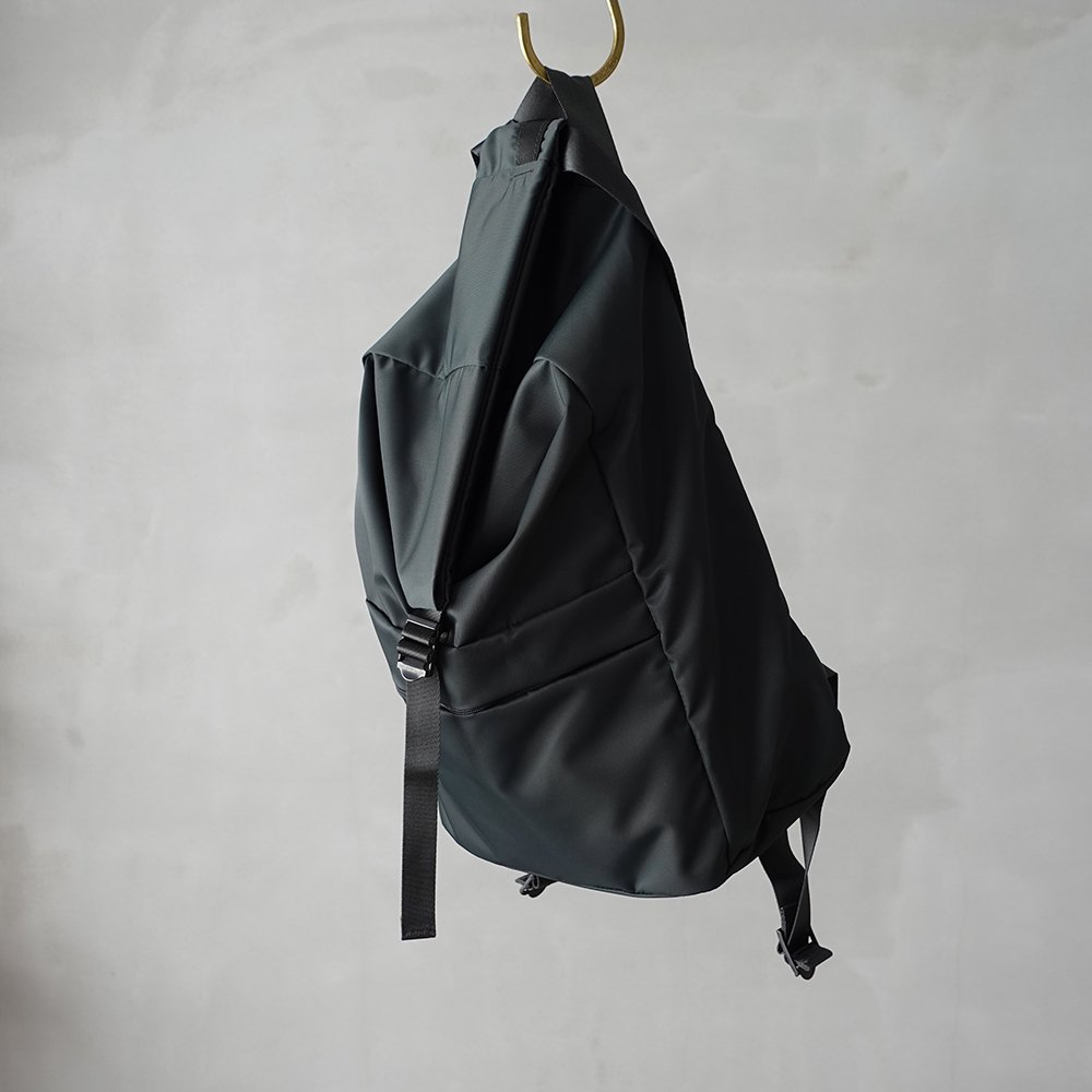 leaf spring backpack _ no.1 / moss gray - nylon twill