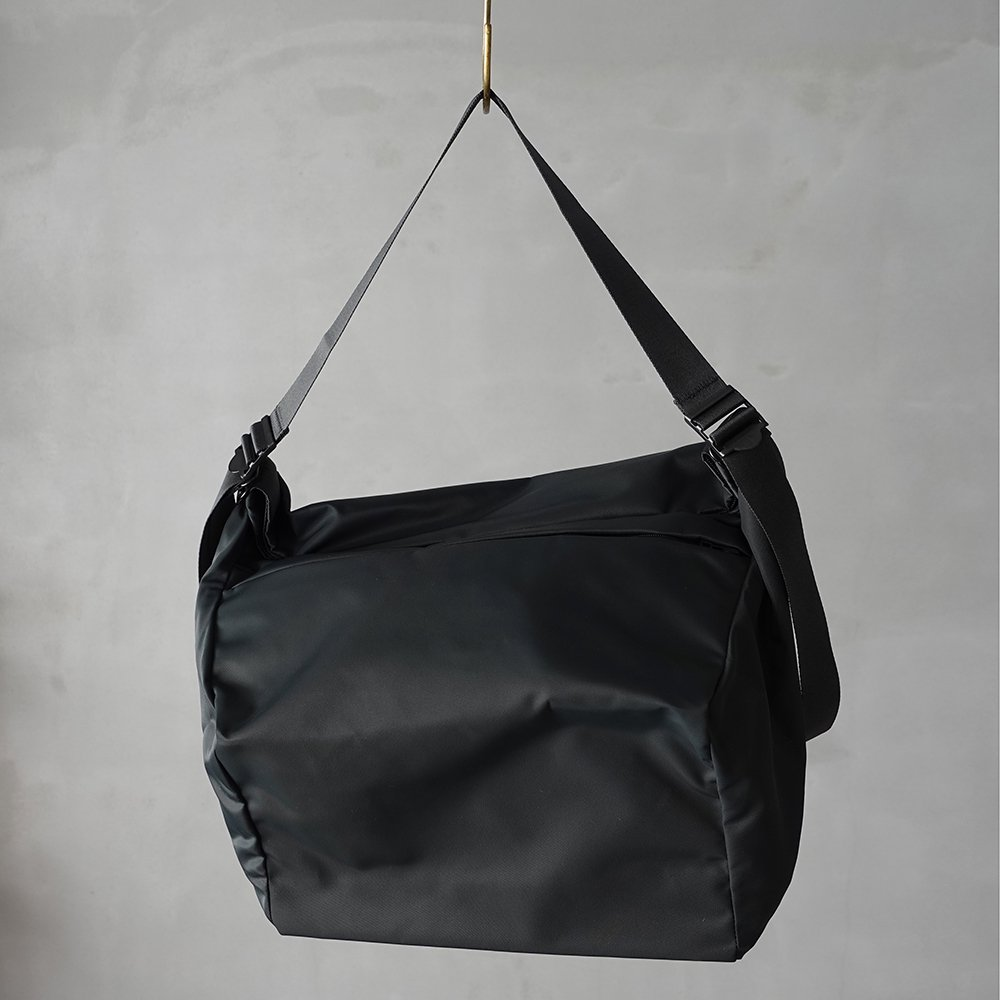 leaf spring tote _ no.2 / moss gray - nylon twill