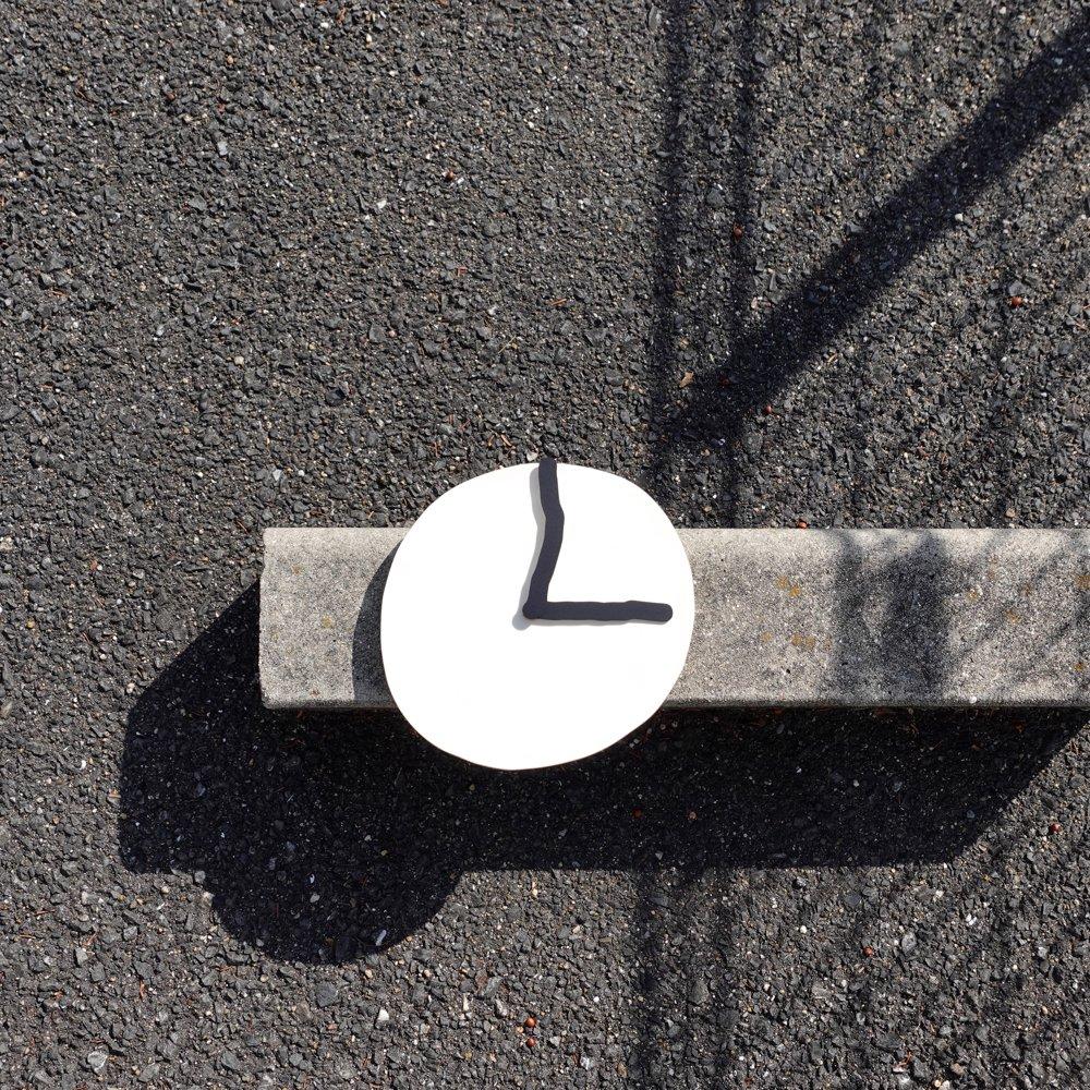 Wall Clock / white