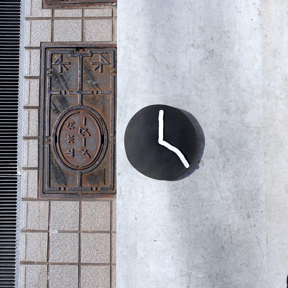 Wall Clock / black