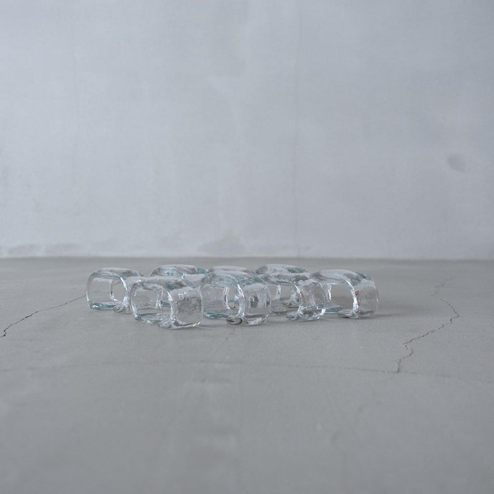 ガラスのナプキンリング