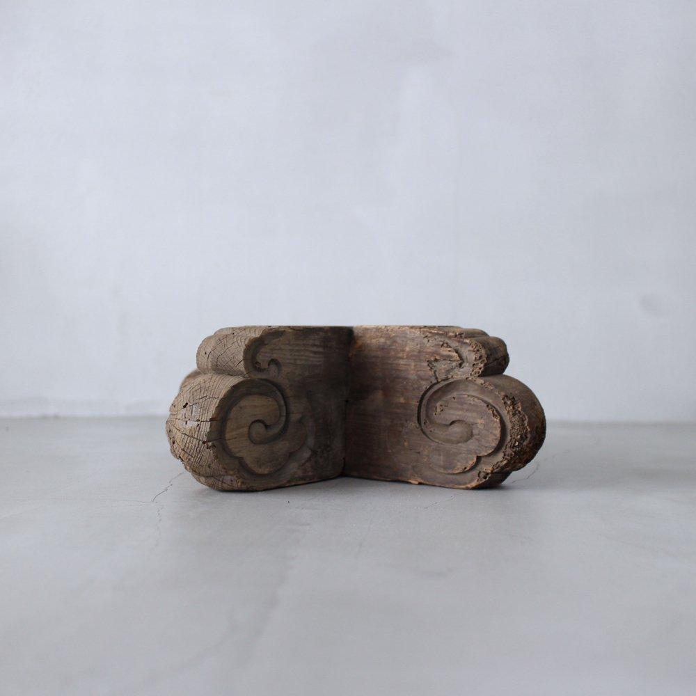 唐招提寺の対の木片