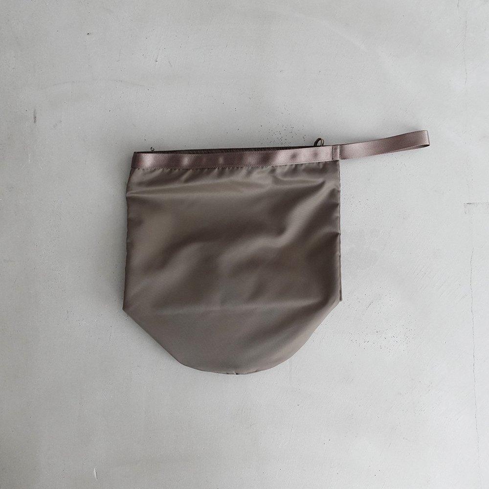 leaf shopping bucket _ no.2 / olive - nylon twill