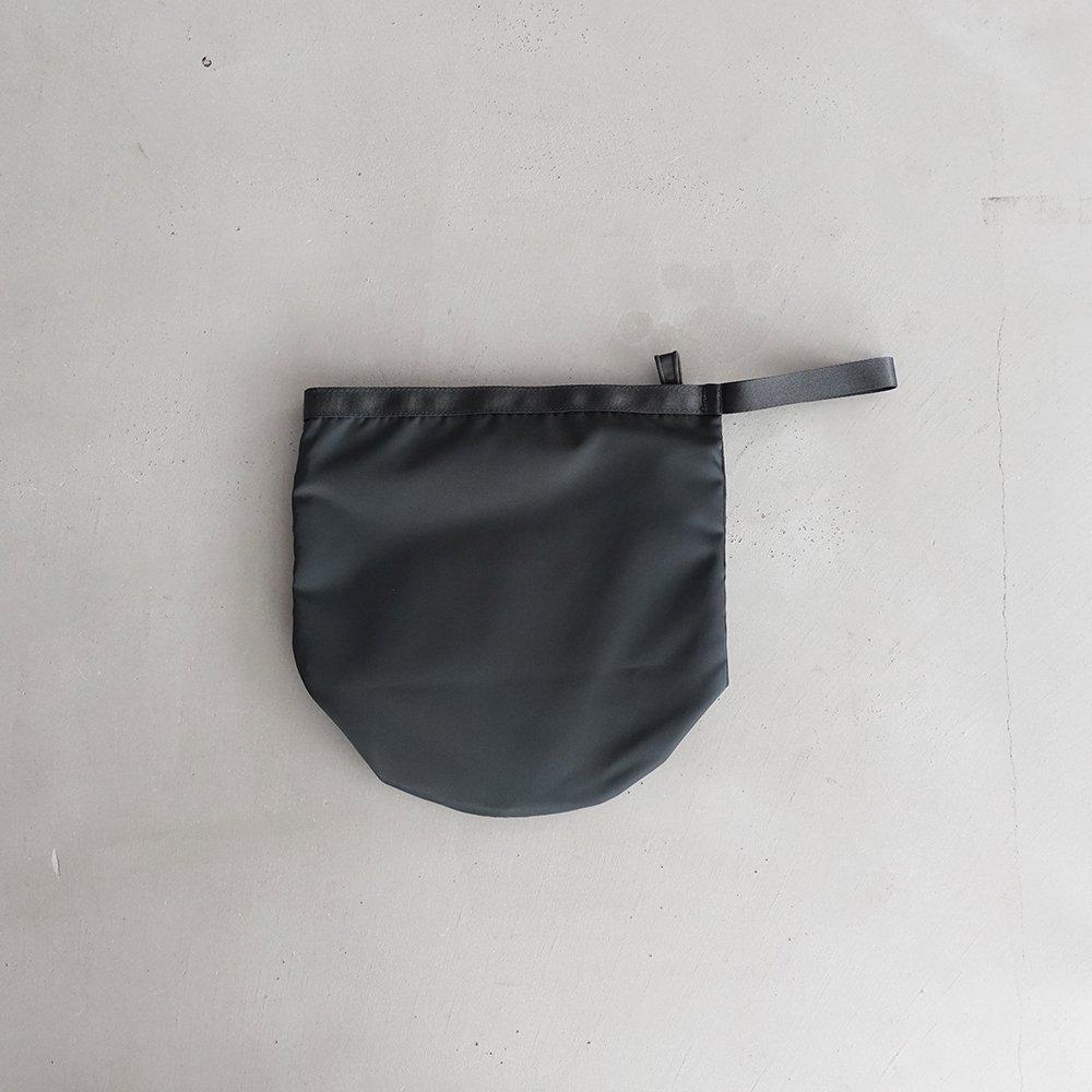leaf shopping bucket _ no.1 / moss gray - nylon twill