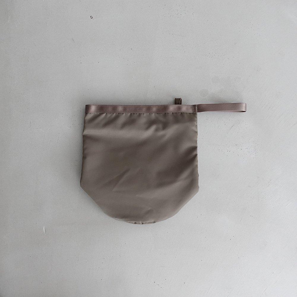leaf shopping bucket _ no.1 / olive - nylon twill