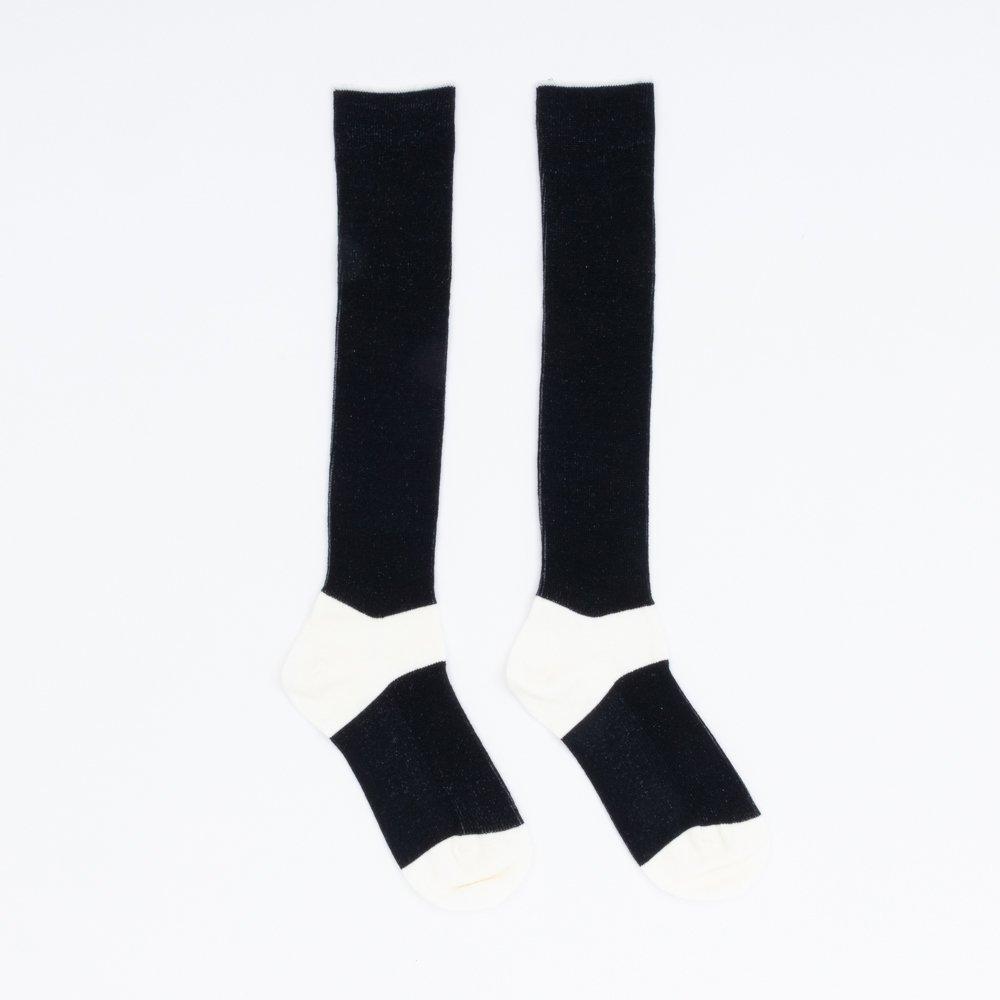 FA15041 / LANA01_95 White(heel,toe)×Black