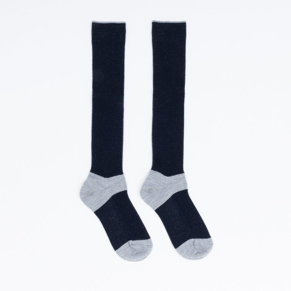 FA15041 / LANA01_73 L.Grey(heel,toe)×Navy