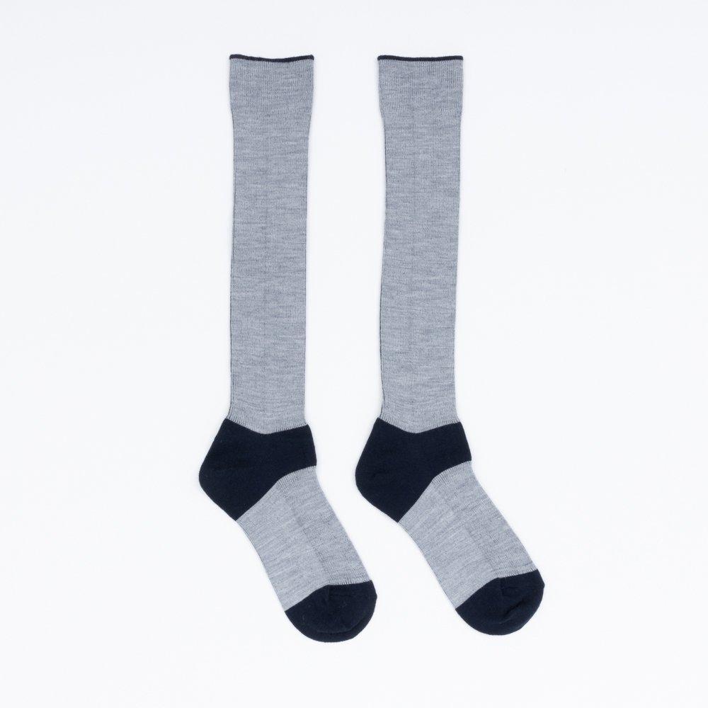 FA15041 / LANA01_05 Navy(heel,toe)×L.Grey