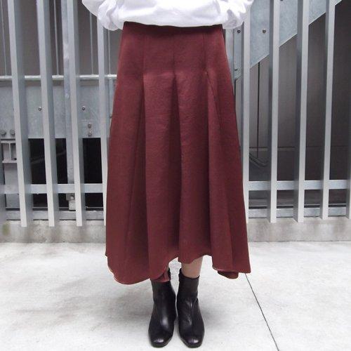 サテンサーキュラースカート イメージ