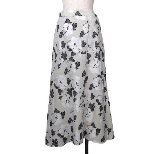 フラワージャガードスカート|イメージ