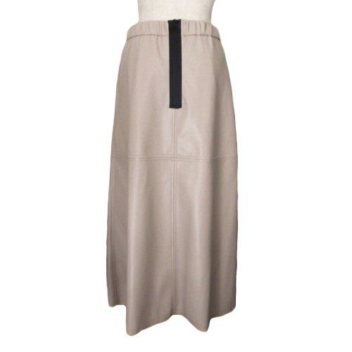 エコレザーAラインスカート|その他のイメージ2
