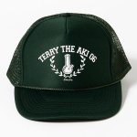 COCOLOBLAND×420RECORDZ 2016 TERRY THE AKI-06 BONG MESH CAP (DARK GREEN)