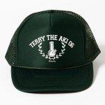 COCOLOBLAND×420RECORDZ 2016 TERRY THE AKI-06 BONG MESH CAP (DARK GREEN)