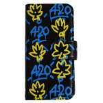 420 T LEAF iPhone Case / BLACK