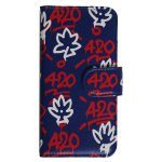 420 T LEAF iPhone Case / NAVY