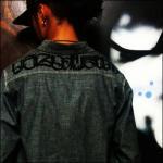 NEW TYPE 裏庭オリジナルシャンブレーシャツ BLK