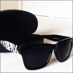 420RECORDZロゴサングラス/ BLACK
