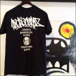「420RECORDZ URANIWA TOUR TEE」BLACK