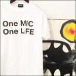 「One MIC One LIFE TEE」