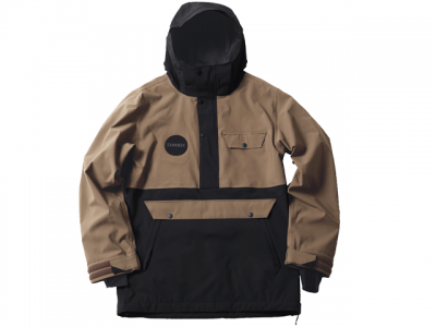 TYANDY-DD|ティアンディ-ディディ PULLOVER JACKET color:SAND/BLACK