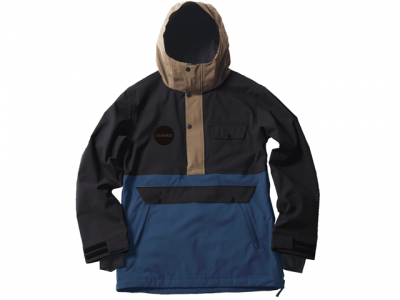 TYANDY-DD ティアンディ-ディディ PULLOVER JACKET color:BLACK/NAVY