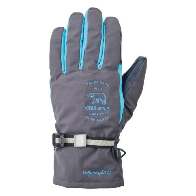 18-19 VOLUME GLOVES | FIVE KING | Color : CHARCOAL / D-BLUE