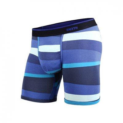 MY PAKAGE|マイパッケージ WEEKDAY PRINT Funky Stripe Blue