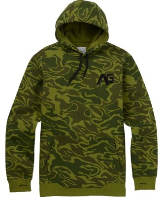17-18 ANALOG CRUX PULLOVER HOODIE color:Rifle Green Noodle Camo