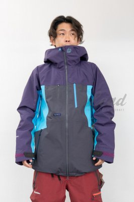 【予約商品】19-20 REW | KAMIKAZE JKT 22 | Color : PURPLRE x F-BLUE x CHARCOAL