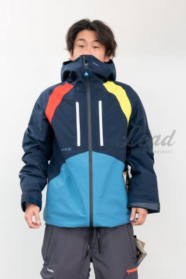 【予約商品】19-20 REW | INSANE JKT 08 | Color : NAVY x RED x L-YELLOW x D-BLUE
