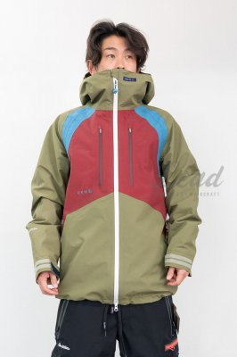 19-20 REW | INSANE JKT 08 | Color : STONE x D-BLUE x BURGUNDY