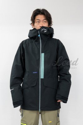 19-20 REW F + LIGHT LINE | THE BASIC JKT 19 | Color : P-BLACK x GREEN GRAY