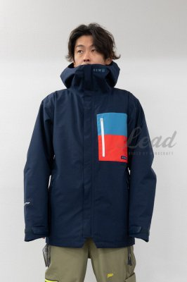【予約商品】19-20 REW F + LIGHT LINE | THE KAMIKAZE F+LIGHT JKT 03 | Color : P-NAVY x F-BLUE x RED