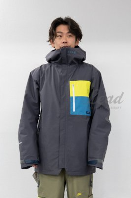 【予約商品】19-20 REW F + LIGHT LINE | THE KAMIKAZE F+LIGHT JKT 03 | Color : CHARCOAL x L-YELLOW x D-BLUE