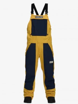 18-19 ANALOG|アナログ  ICE OUT BIB PANT カラー:Flashback/Mood Indigo
