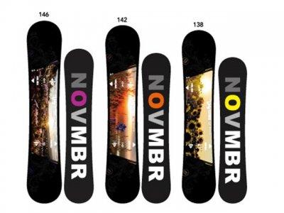19-20 NOVEMBER snowboard|ノーベンバー D4 ツインキャンバー