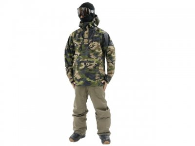 20-21 686|シックエイトシックス PIKE 3L HOODY color:Surplus Utility Camo