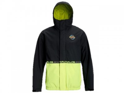 19-20 ANALOG|アナログ BLAST CAP JACKET カラー:True Black / High Viz