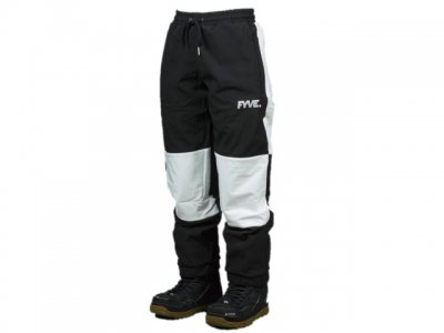 20-21 FYVE|ファイブ KNEE PANTS color:Black with White