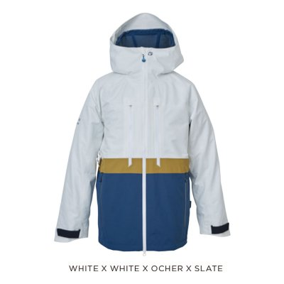 【予約商品】21-22 REW | THE KAMIKAZE JKT 24 | Color : WHITE x WHITE x OCHER x SLATE