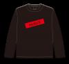 《残り僅か!!》【XLサイズ】あかラジ黒ロングTシャツ【相羽あいな・吉岡茉祐 あかんもんはあかん!】
