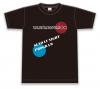《残り僅か!!》【XLサイズ】らなミナ2021黒Tシャツ【らなミナのおみあい〇〇:森下来奈さん/中澤ミナさん】