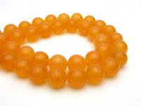 オレンジアラゴナイトAA 丸玉12mm◇1粒売り/半連売り◇