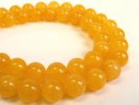 オレンジアラゴナイトAA 丸玉10mm◇1粒売り/半連売り◇