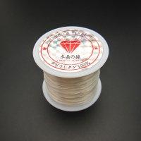 オペロンゴム(水晶の線)50m ホワイト