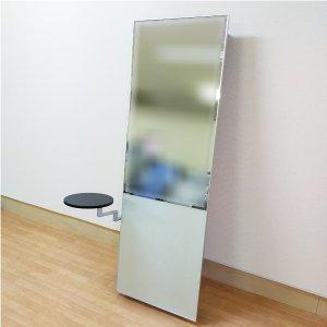 【中古】タカラベルモント 『LIM mirror 01(リムミラー) 壁付け式』 ★背面キャビネット仕様!