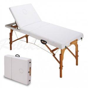 【新品/送料無料】『木製折りたたみベッドCB920(マクラ・肘掛け付き)』 西村製作所